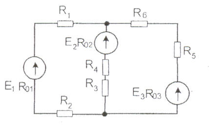 Контрольная работа по электротехнике Метод расчета 1 метод узловых и контурных уравнений